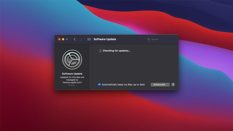 苹果 macOS Big Sur 用户将可更快地安装系统更新