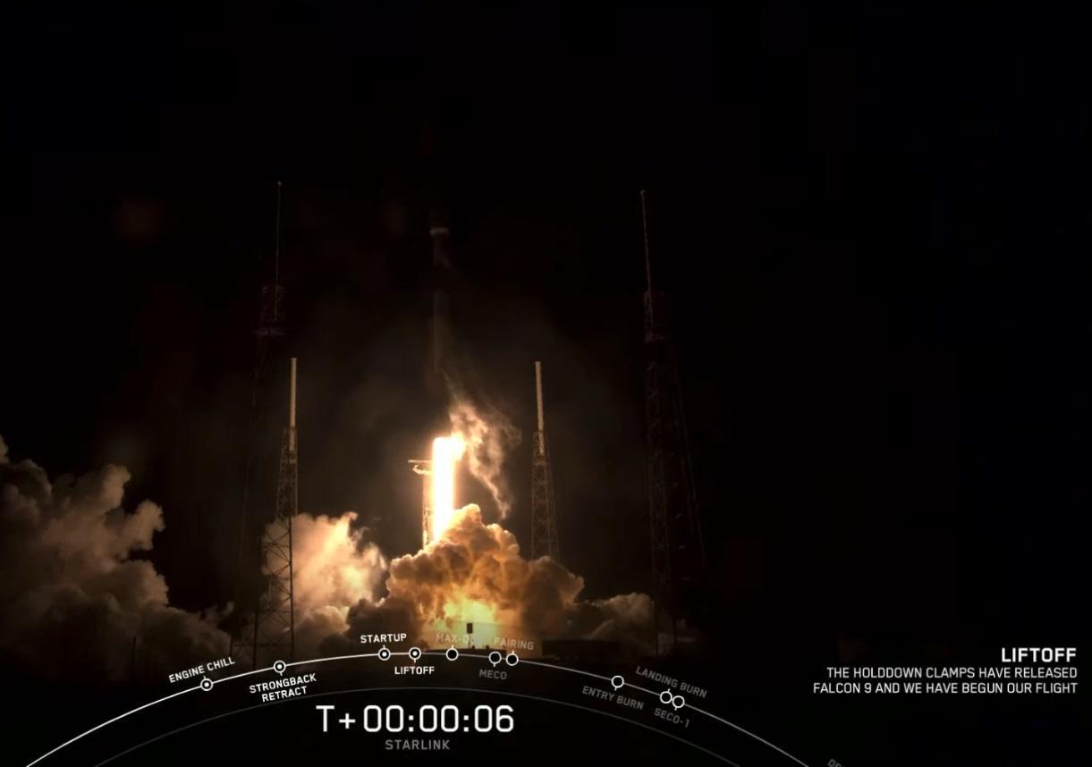 SpaceX 成功发射第 16 批星链卫星,总量接近 1000 颗