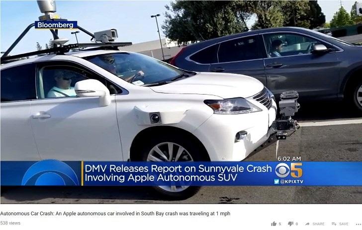 彭博社:苹果自动驾驶汽车至少要等 5 年
