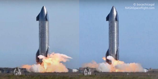首次,SpaceX 星舰原型 SN9 一天完成 3 次静态点火测试