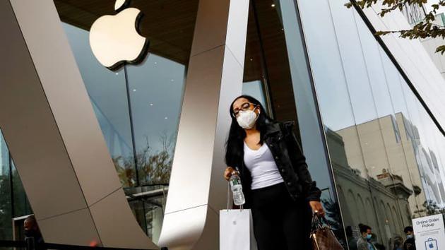 苹果美国 270 家 Apple Store 已全部开门营业,为疫情爆发以来首次