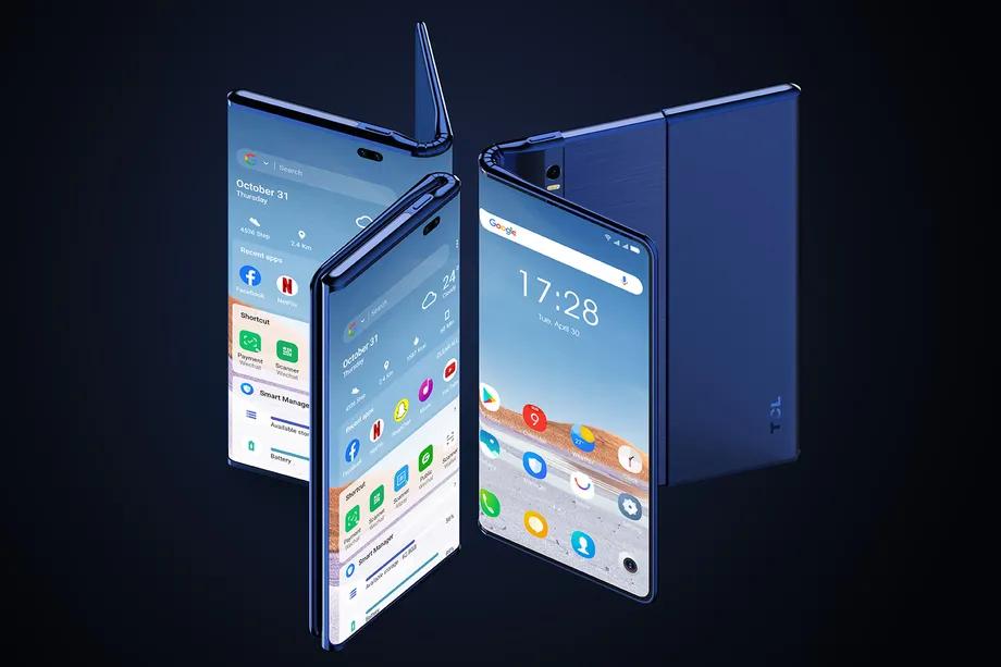 能屈能伸,TCL 放出 Fold'n Roll 概念:6.87 英寸手机可变身 10 英寸平板