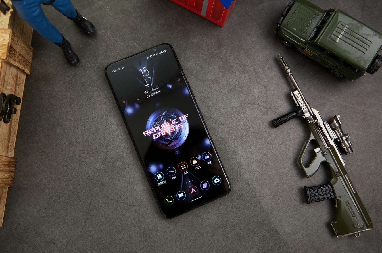 """腾讯ROG游戏手机5神光同步 像素点阵设计""""炫""""玩信仰之光"""