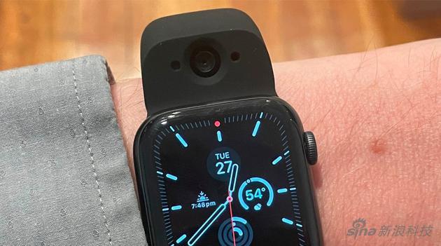 外媒上手 Wristcam:给苹果 Apple Watch 增添拍照功能的第三方表带