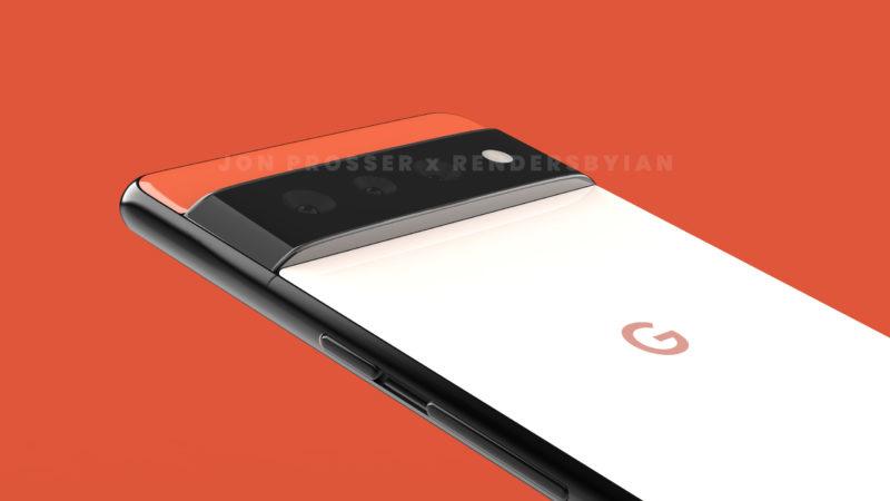 谷歌 Pixel 6/6 Pro 渲染图首曝光:外观设计别具一格
