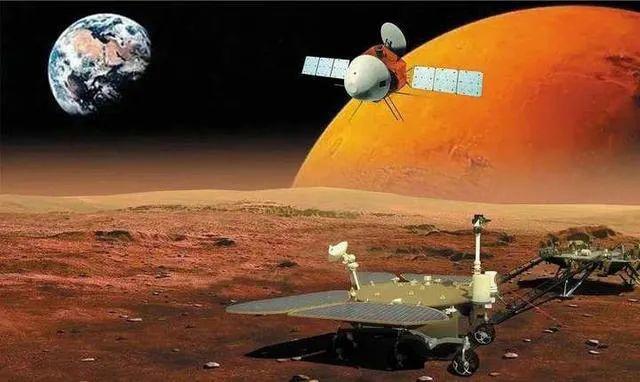 """""""祝融号""""火星车顺利发回遥测信号!我国首次火星探测任务着陆火星取得圆满成功"""