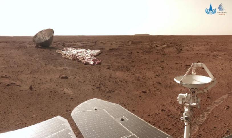 """""""祝融号""""火星车行驶 509 米:即将对第二处沙丘开展详细探测"""