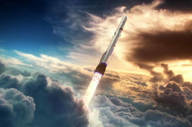 """贝索斯也将飞往太空,交通工具比布兰森的""""传统""""了点"""