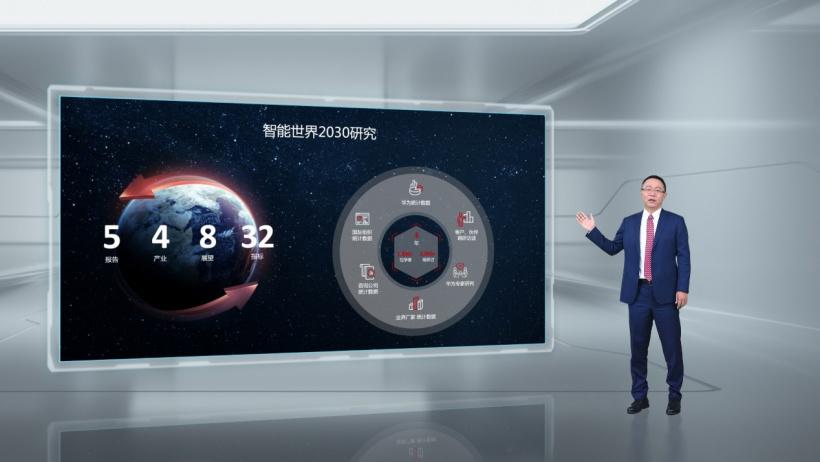 华为发布《智能世界 2030》报告,预计到 2030 年中国自动驾驶新车渗透率将高于 20%
