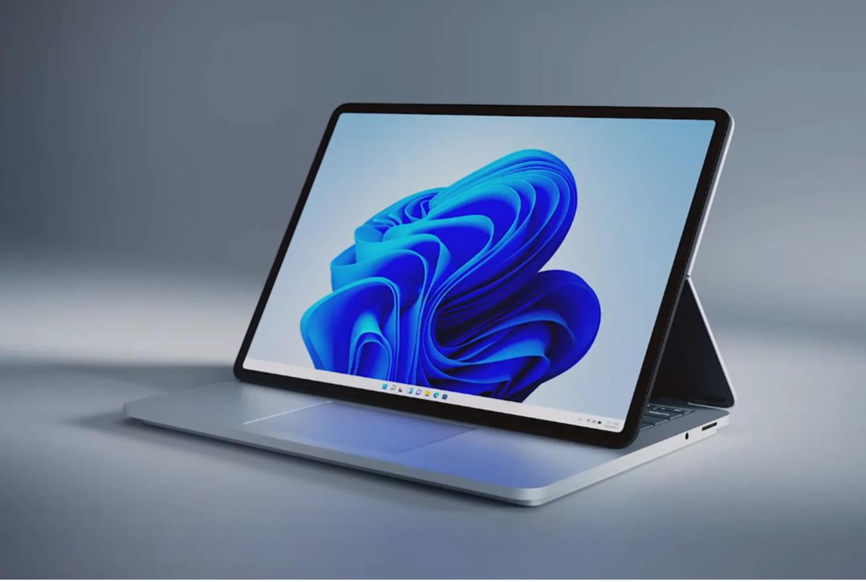 Win11 电脑 Surface Laptop Studio 正式发布:14.4 英寸可拉动 120Hz 显示屏,微软史 ...