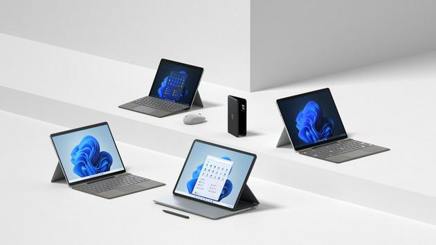 微软 Surface Pro 8/Go 3/Duo 2 全线升级:Laptop Studio 全新旗舰笔记本亮相,终于抛 ...