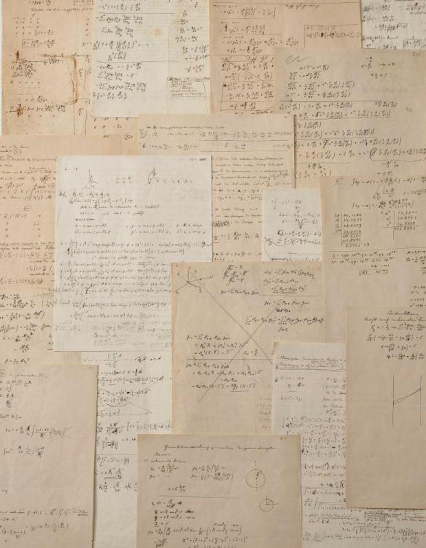 爱因斯坦相对论手稿将拍卖,估价高达 300 万欧元