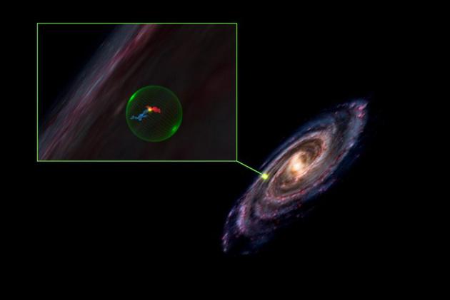天文学家最新发现一处巨大球状空洞,推测与超新星爆炸有关