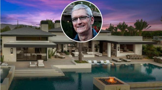 苹果 CEO 库克被曝曾斥资 1010 万美元在加州购买豪宅,面积近千平